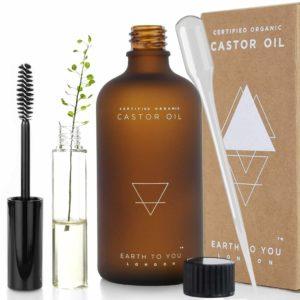 Bio Rizinusöl - Castor Oil - 100% rein, kaltgepresst, unraffiniert, vegan, gentechnikfrei. Natürliche Haarwuchsbehandlung. Verstärkt das.