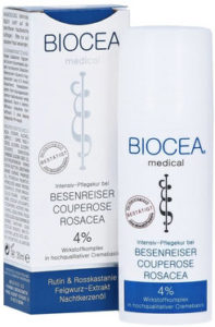 Die Biocea Besenreiser Couperose Rosacea Creme