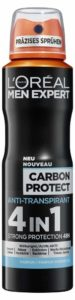L'Oreal Men Expert bietet mit seinem Carbon Protect Anti-Transpirant 4in1