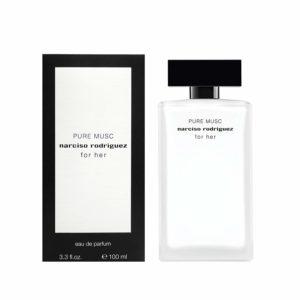 Das Eau de Parfum Narciso Rodriguez for her Pure Musc zeichnet sich durch eine ausgewogene